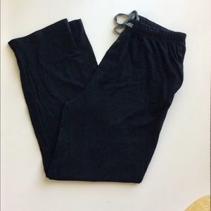 Too Loud Black Pants With Gray Accents Size 2XL
